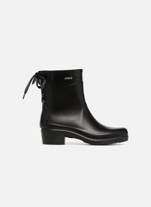 Bottines et boots Aigle Miss Juliette Bottillon Lacets Noir vue derrière