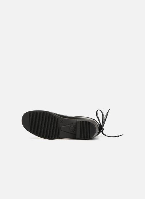 Stiefeletten & Boots Aigle Miss Juliette Bottillon Lacets schwarz ansicht von oben