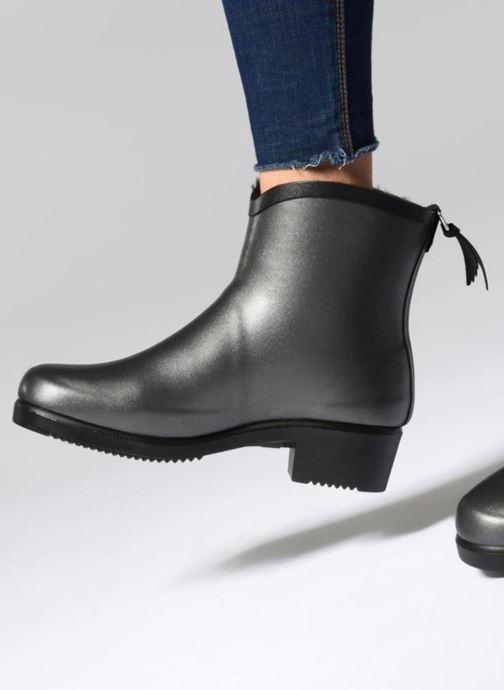 Bottines et boots Aigle Miss Juliette Bottilon Fur Gris vue bas / vue portée sac