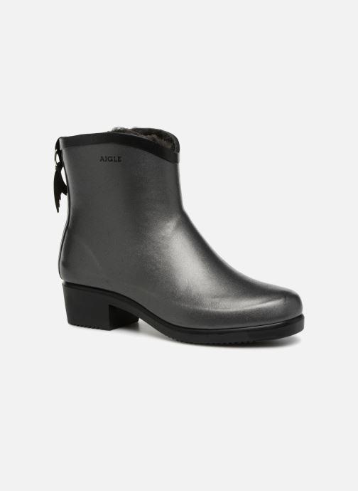 Bottines et boots Aigle Miss Juliette Bottilon Fur Gris vue détail/paire