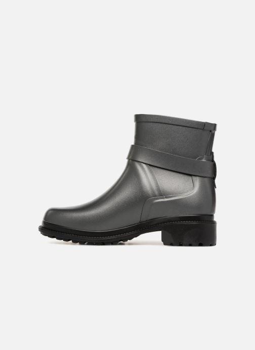 Bottines et boots Aigle Macadames Low Argent vue face