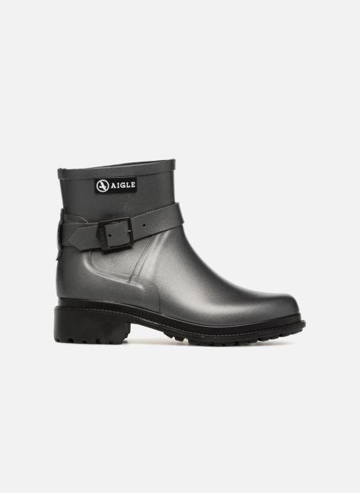 Bottines et boots Aigle Macadames Low Argent vue derrière