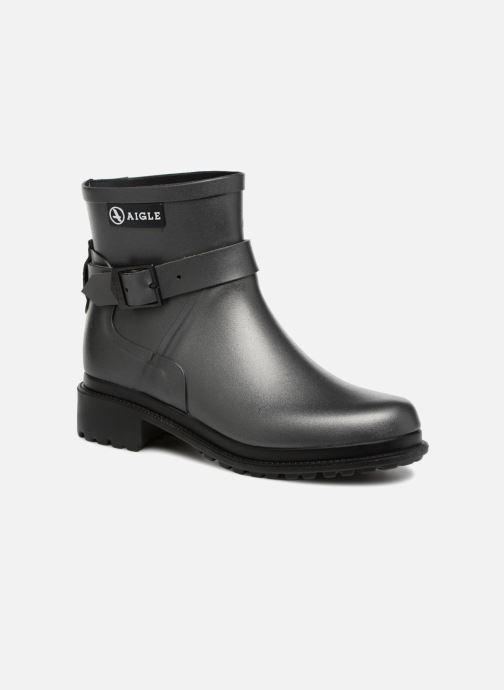 Bottines et boots Aigle Macadames Low Argent vue détail/paire