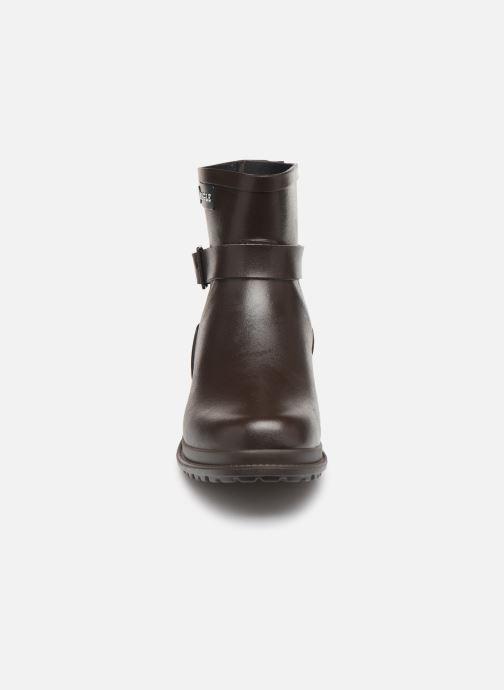 Bottines et boots Aigle Macadames Low Marron vue portées chaussures