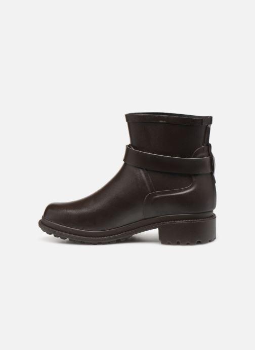 Bottines et boots Aigle Macadames Low Marron vue face