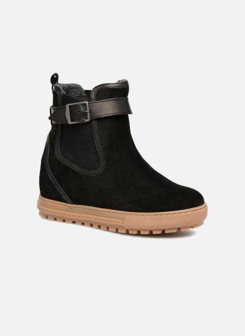 Boots en enkellaarsjes Aigle Chelswarm Zwart detail