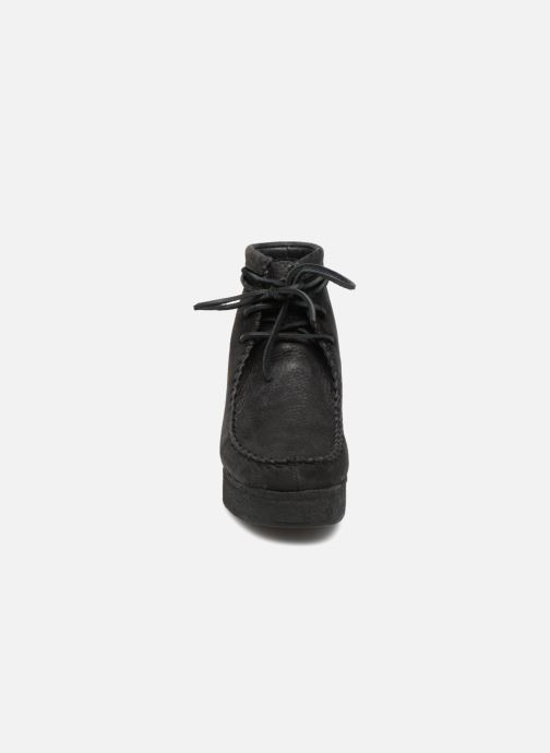 Ankle boots Clarks Originals Wallabee Craft Black model view