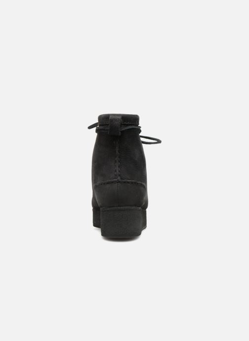 Bottines et boots Clarks Originals Wallabee Craft Noir vue droite