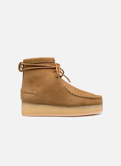 Bottines et boots Clarks Originals Wallabee Craft Marron vue derrière