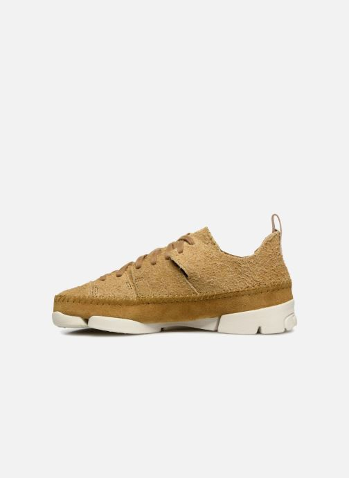 Baskets Clarks Originals Trigenic Flex. Jaune vue face