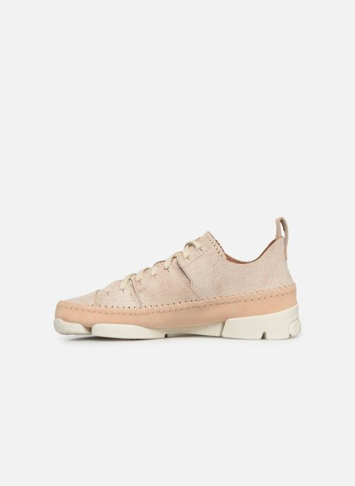 Sneakers Clarks Originals Trigenic Flex. Beige voorkant