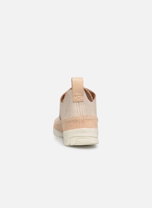 Baskets Clarks Originals Trigenic Flex. Beige vue droite