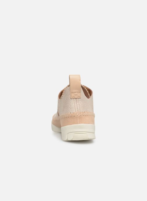 Trainers Clarks Originals Trigenic Flex. Beige view from the right