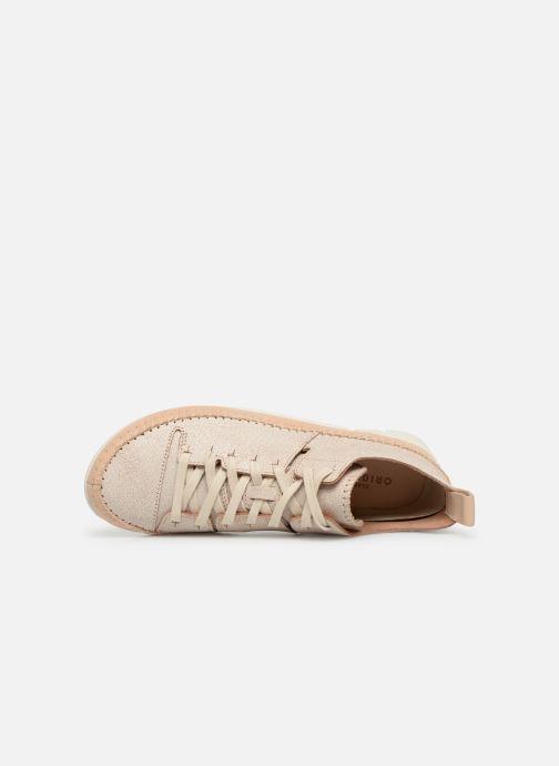 Sneakers Clarks Originals Trigenic Flex. Beige immagine sinistra