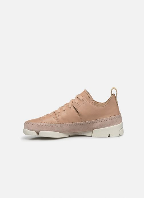 Sneakers Clarks Originals Trigenic Flex. Rosa immagine frontale