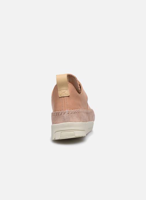 Sneakers Clarks Originals Trigenic Flex. Rosa immagine destra