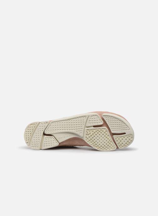 Sneakers Clarks Originals Trigenic Flex. Rosa immagine dall'alto