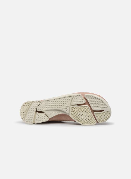 Sneakers Clarks Originals Trigenic Flex. Rosa immagine dall'alto