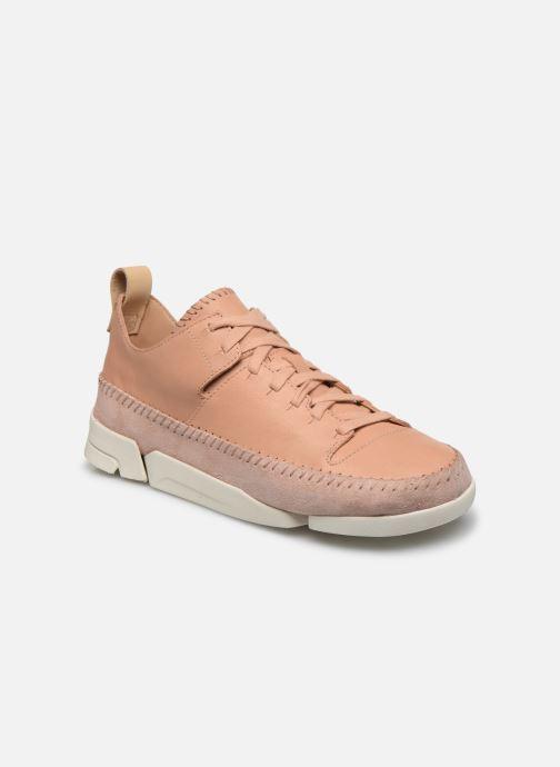 Sneakers Clarks Originals Trigenic Flex. Roze detail