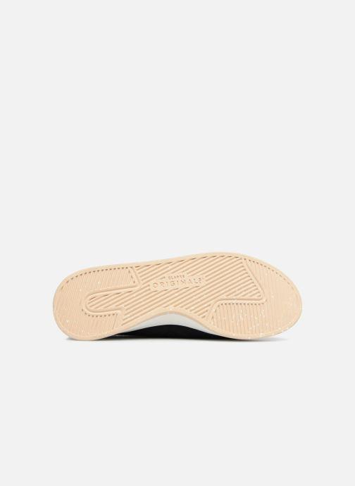 Sneaker Clarks Originals Kiowa Sport. blau ansicht von oben