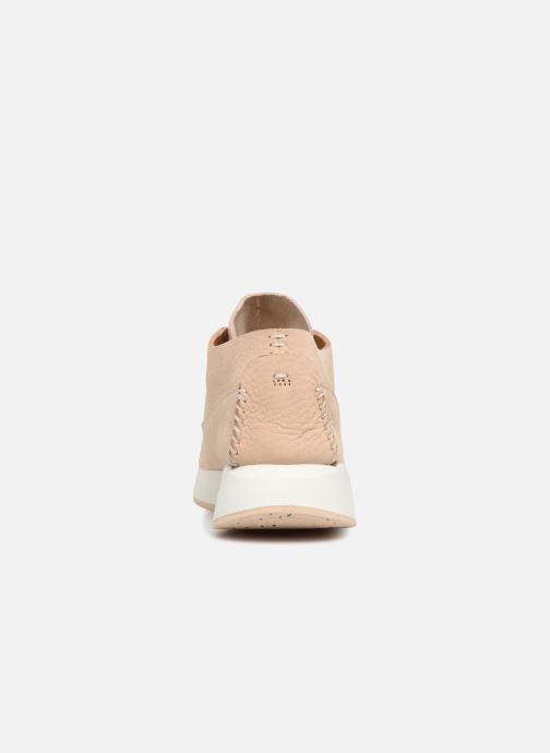 Sneaker Clarks Originals Kiowa Sport. beige ansicht von rechts