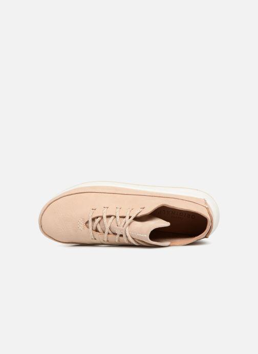 Sneaker Clarks Originals Kiowa Sport. beige ansicht von links