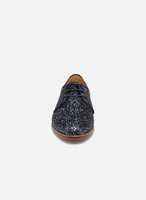 Chaussures à lacets Bobbies La Majorette Bleu vue portées chaussures