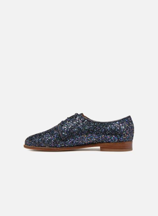 Zapatos con cordones Bobbies La Majorette Azul vista de frente