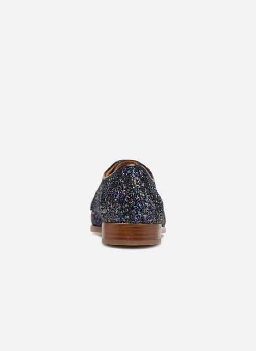 Zapatos con cordones Bobbies La Majorette Azul vista lateral derecha