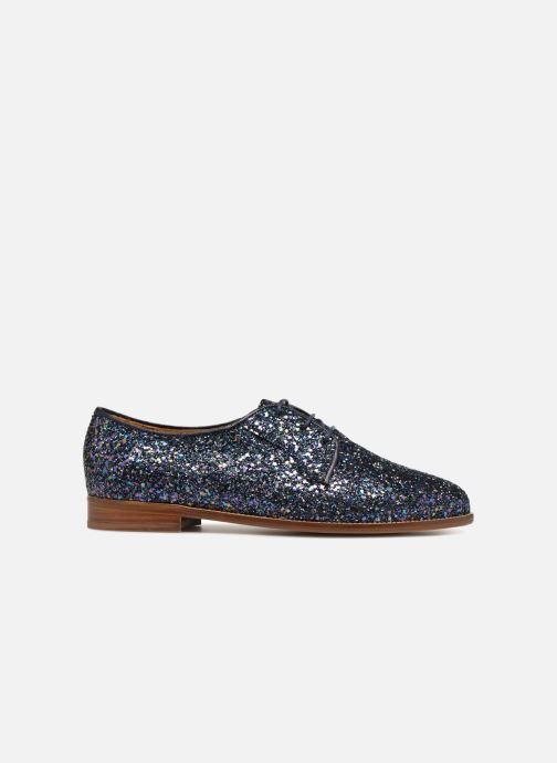 Chaussures à lacets Bobbies La Majorette Bleu vue derrière