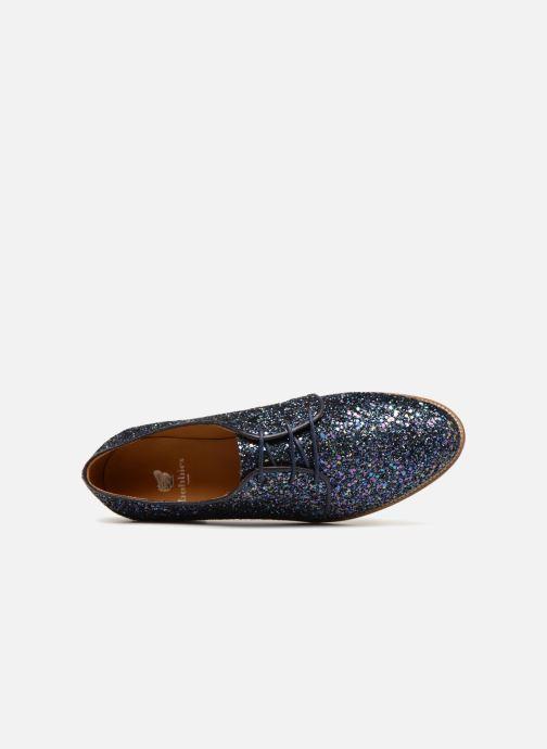 Zapatos con cordones Bobbies La Majorette Azul vista lateral izquierda