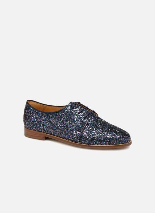 Chaussures à lacets Bobbies La Majorette Bleu vue détail/paire