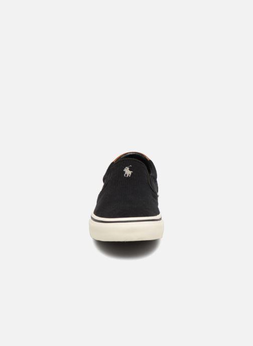 Baskets Polo Ralph Lauren Thompsoniine Noir vue portées chaussures
