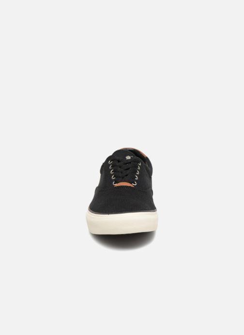 Baskets Polo Ralph Lauren Thortoniine 2 Noir vue portées chaussures