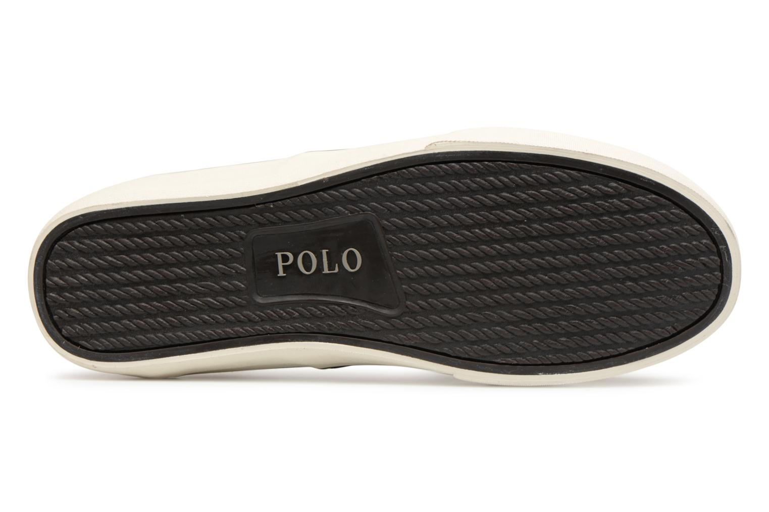 Baskets Polo Ralph Lauren Thortoniine 2 Noir vue haut