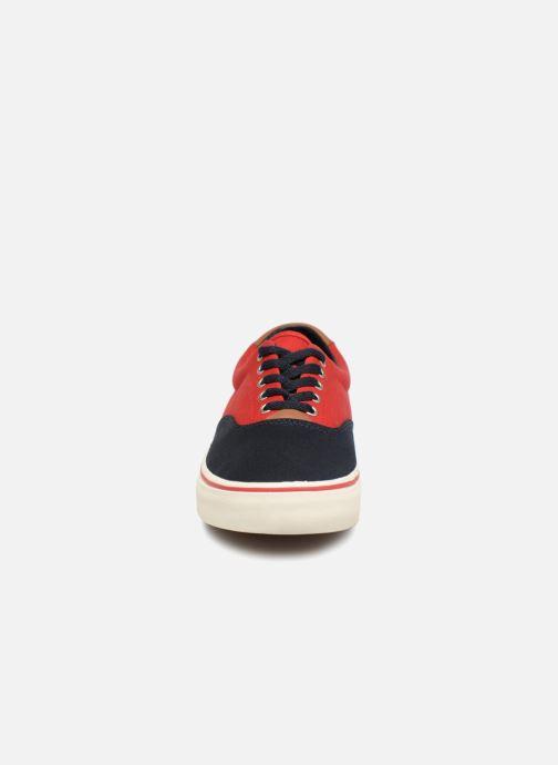 Baskets Polo Ralph Lauren Thorton Bleu vue portées chaussures