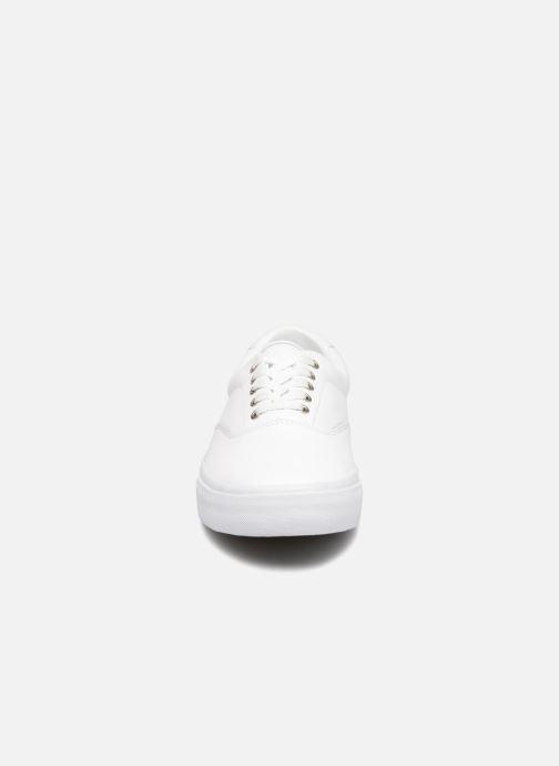 Baskets Polo Ralph Lauren Thorton Blanc vue portées chaussures