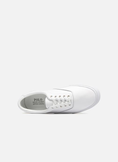Baskets Polo Ralph Lauren Thorton Blanc vue gauche