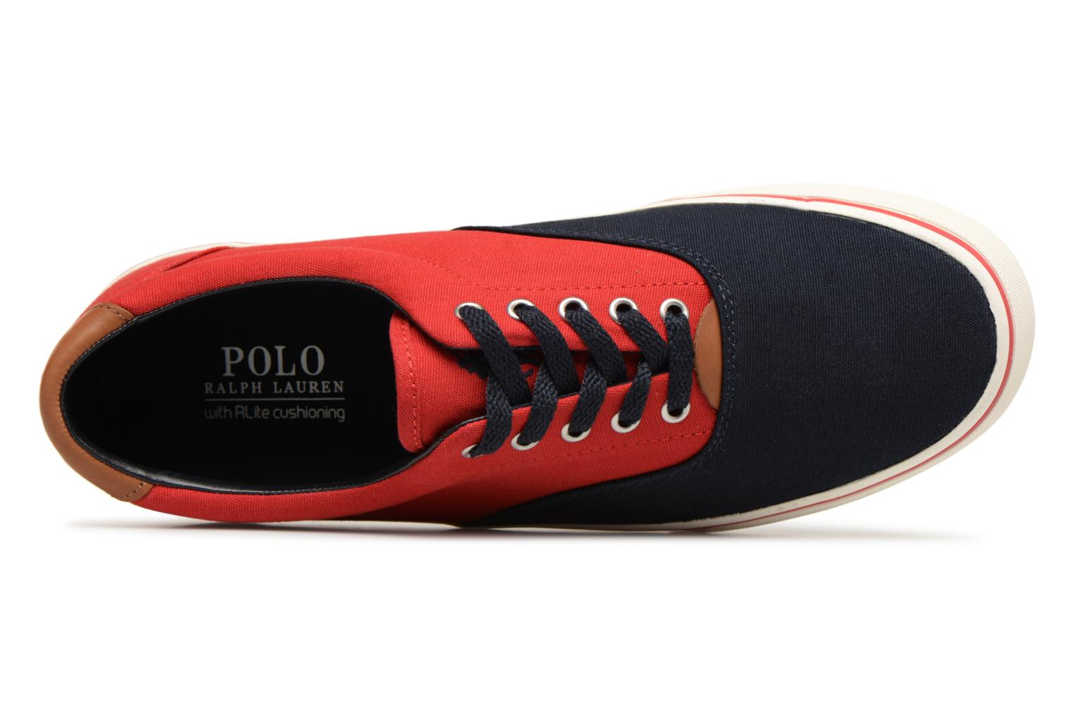 Baskets Polo Ralph Lauren Thorton Bleu vue gauche