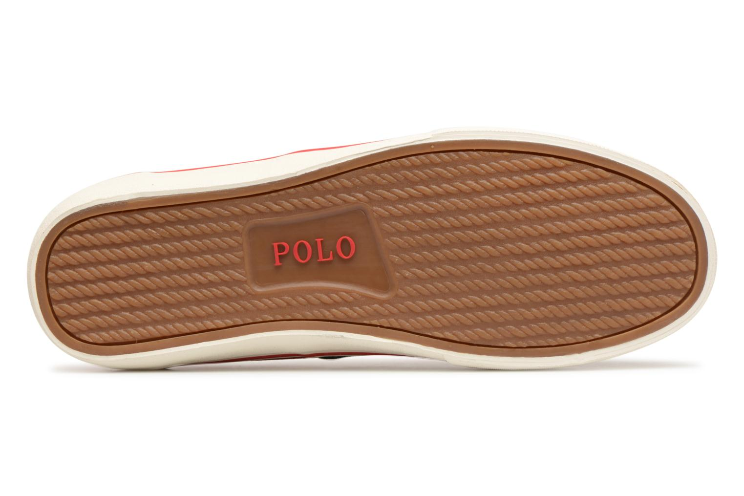 Baskets Polo Ralph Lauren Thorton Bleu vue haut