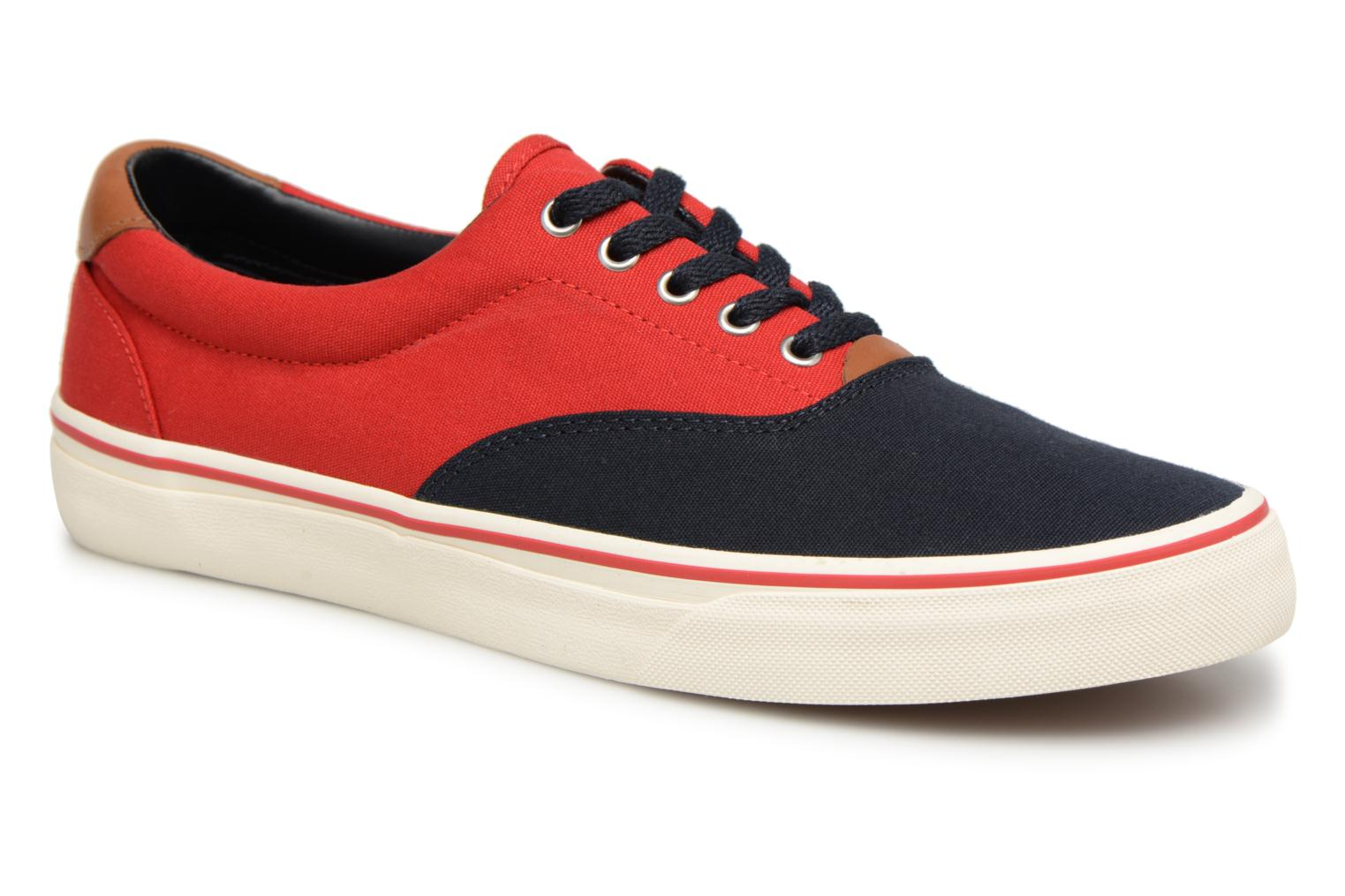 Baskets Polo Ralph Lauren Thorton Bleu vue détail/paire