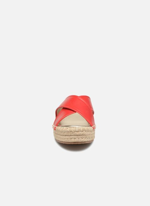 Wedges Compania Fantastica Sandales compensées Satinash Rood model