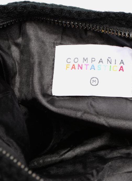 Wallets & cases Compania Fantastica Pochette en maille pompons Black back view