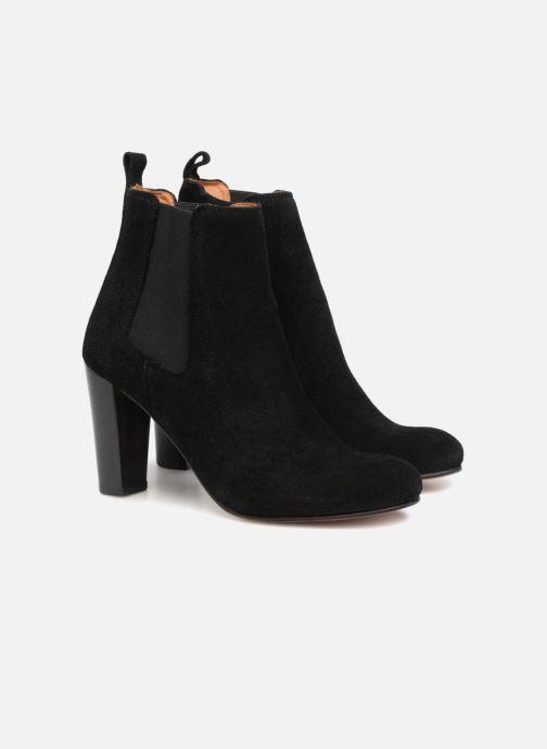 Ankle boots Anthology Paris CASSIE Black 3/4 view