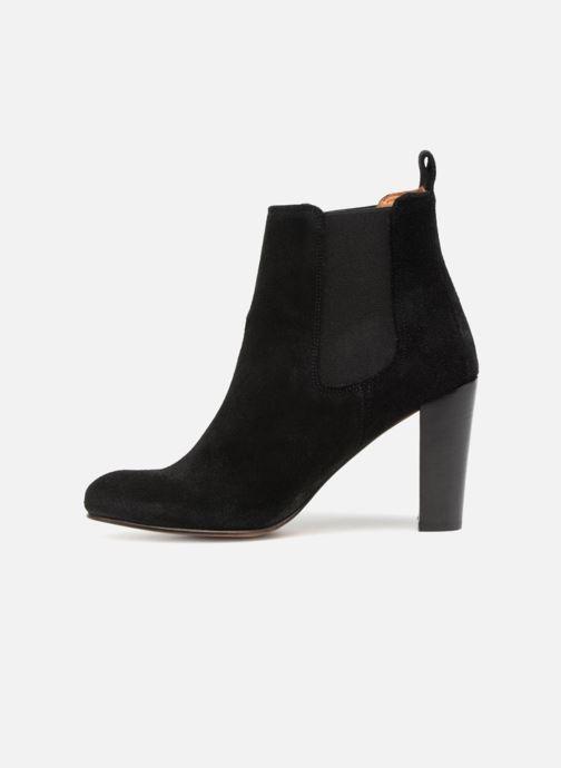 Ankle boots Anthology Paris CASSIE Black front view