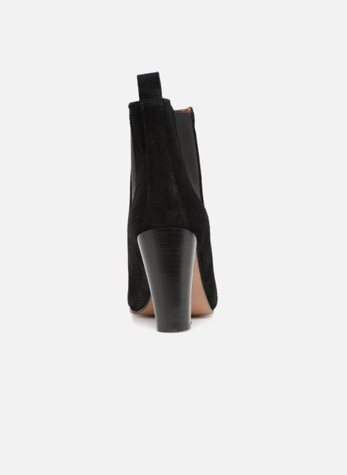 Ankle boots Anthology Paris CASSIE Black view from the right