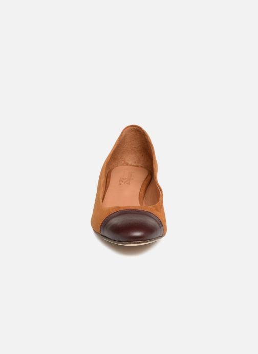 Escarpins Anthology Paris MADRID Marron vue portées chaussures