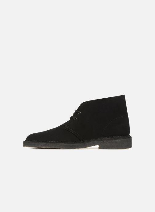 Botines  Clarks Originals Desert Boot M Negro vista de frente