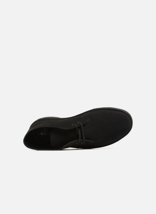 Bottines et boots Clarks Originals Desert Boot M Noir vue gauche