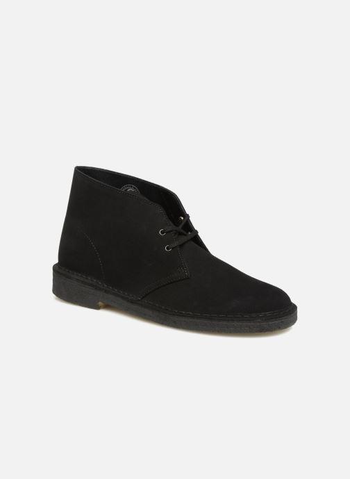 Bottines et boots Clarks Originals Desert Boot M Noir vue détail/paire